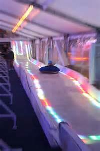 night ice slide